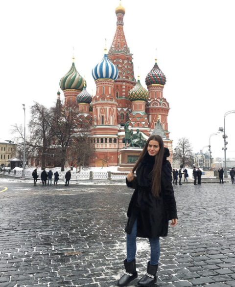 single russian girl from Moscow